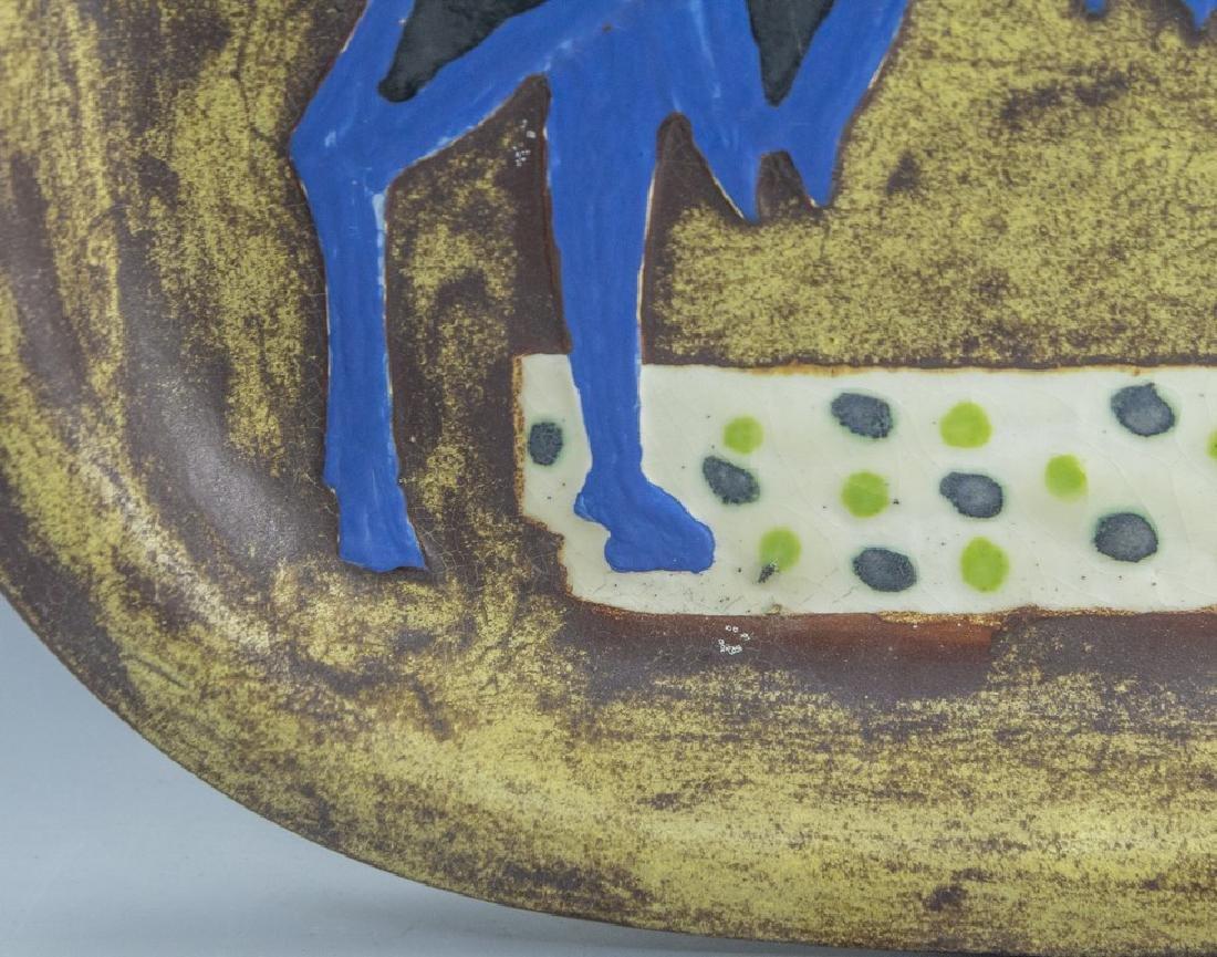 Marcel Janco, Ceramic Tray - 2