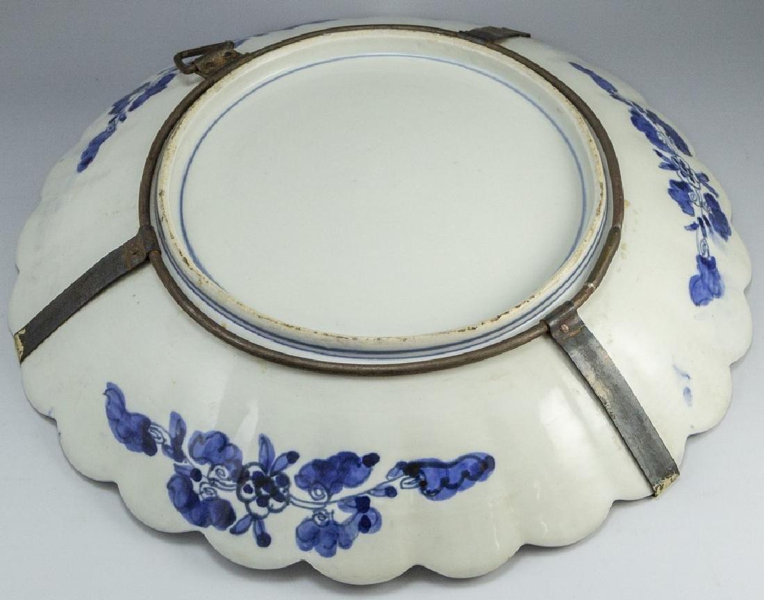 Japanese Meiji Imari Plate - 5