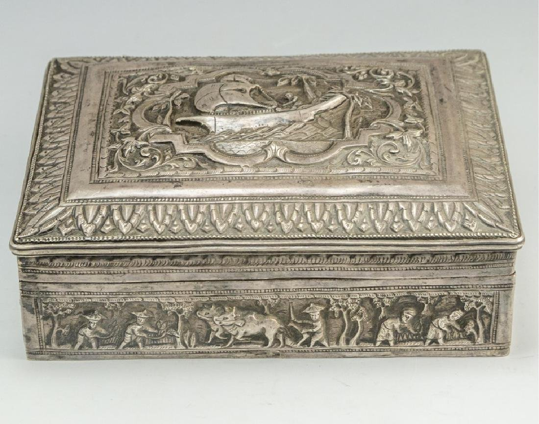 Asian Silver Box
