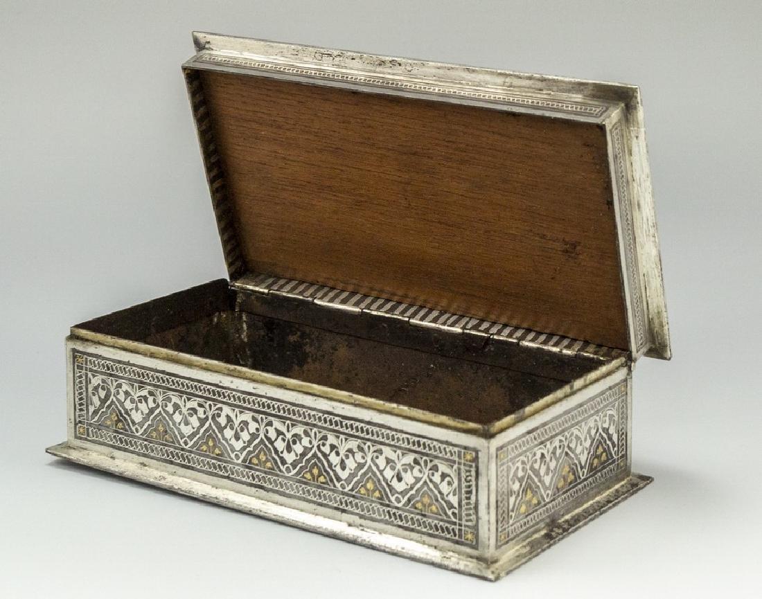 Bidriware Brass Box - 3