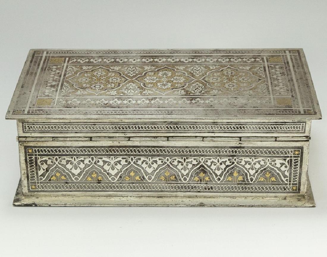 Bidriware Brass Box - 4