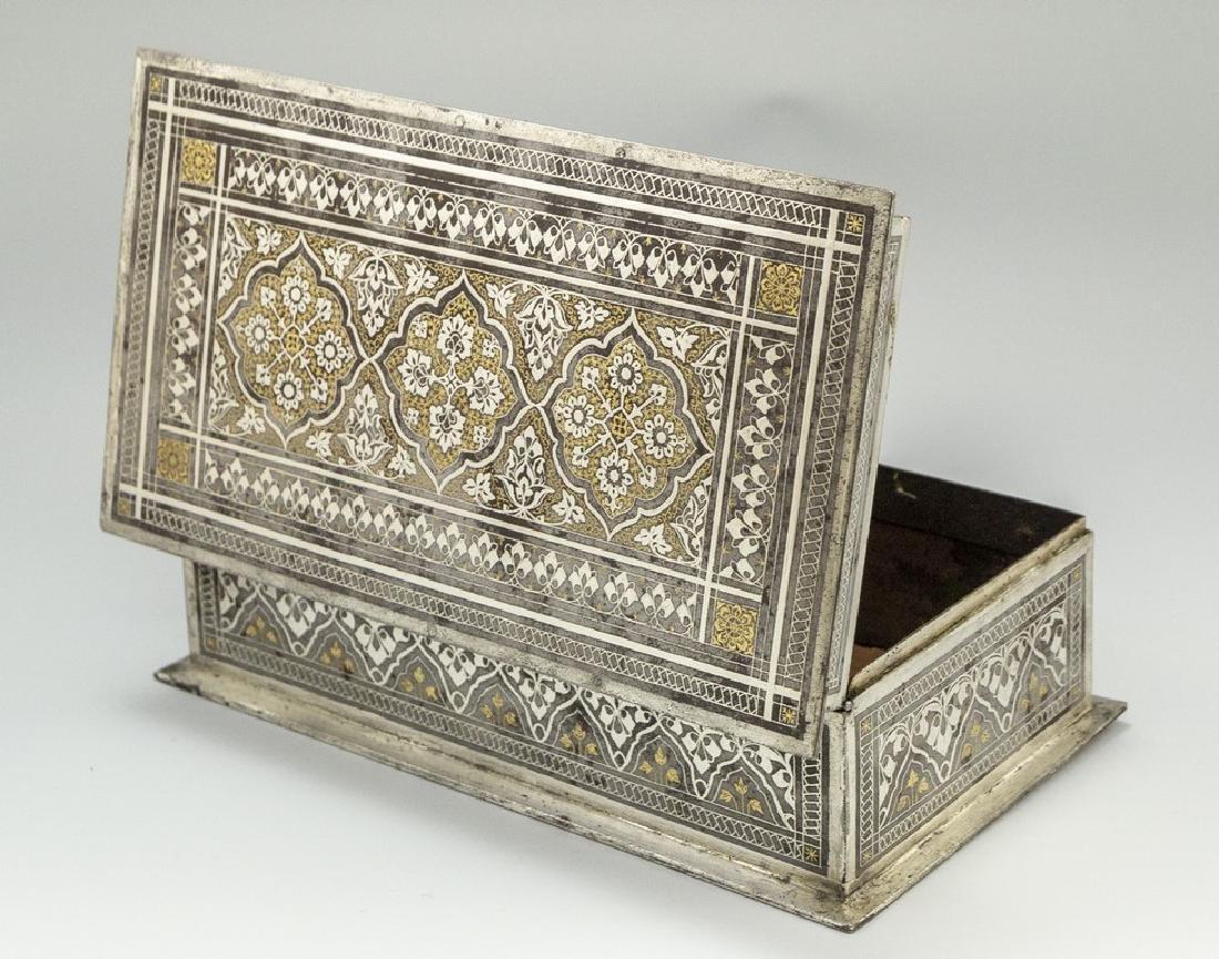 Bidriware Brass Box - 5