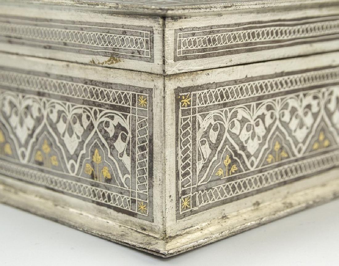 Bidriware Brass Box - 7