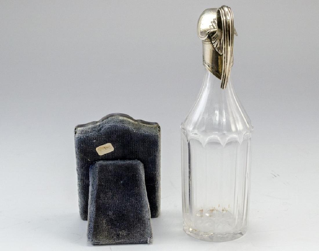 Two English Items - a Clock and Bottle - 7
