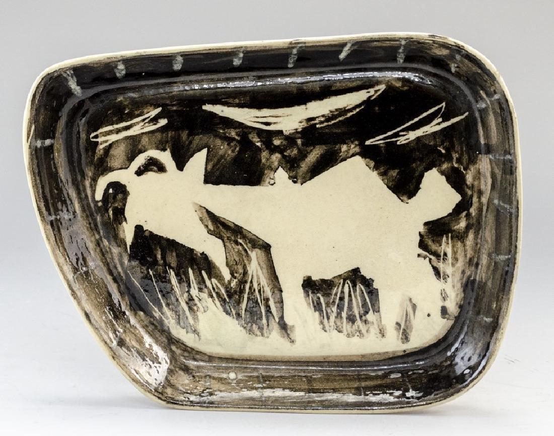 Marcel Janco (1895-1984), Ceramic Tray