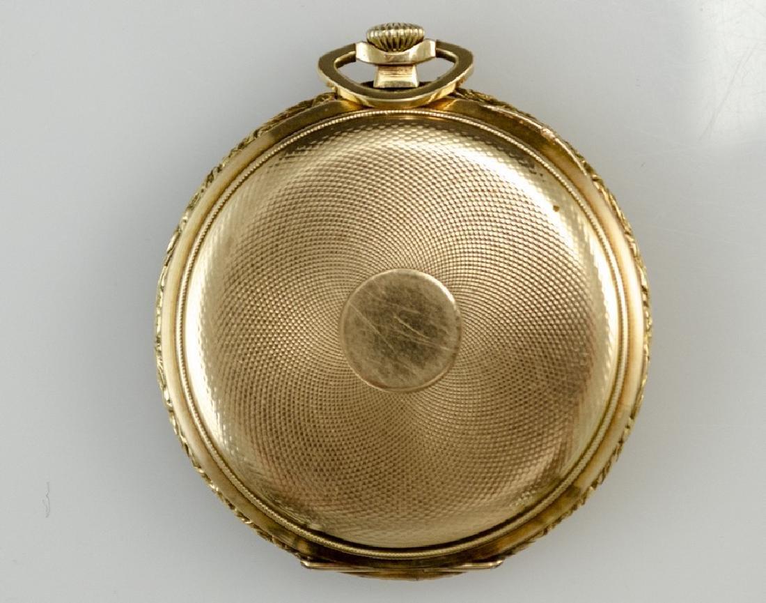 Gold Pocket Watch by Doxa - 2