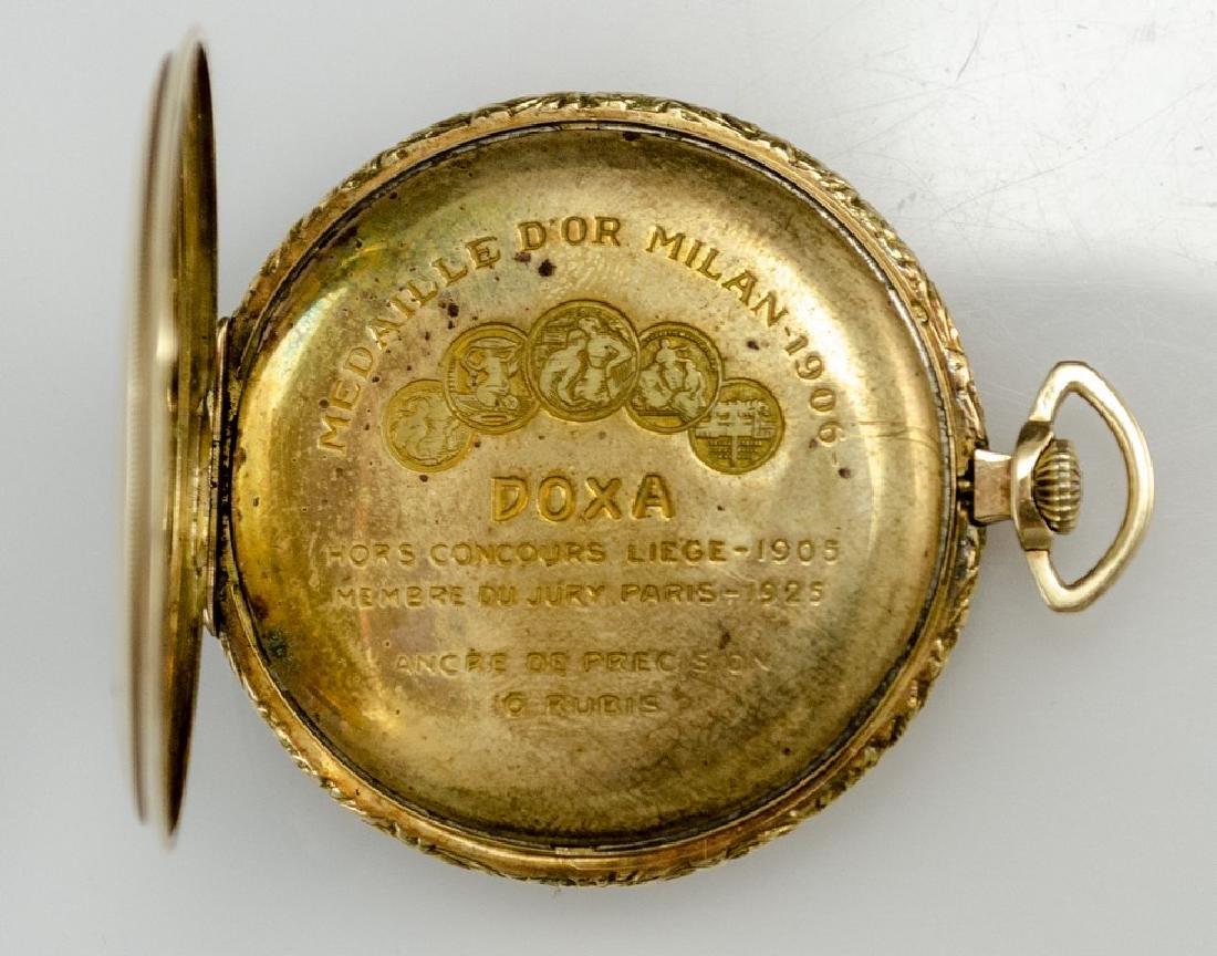 Gold Pocket Watch by Doxa - 3