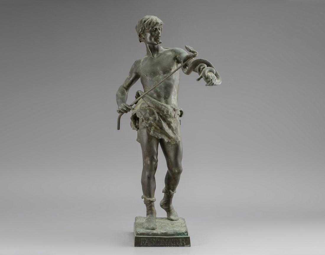 Eugene Marioton (French, 1854-1933), Bronze Sculpture