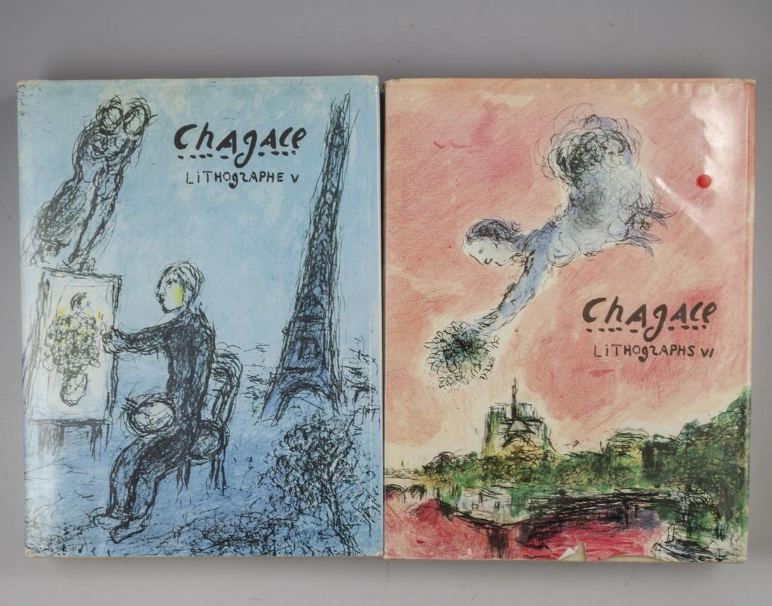 Marc Chagall, Lithographs, Vol. V & VI
