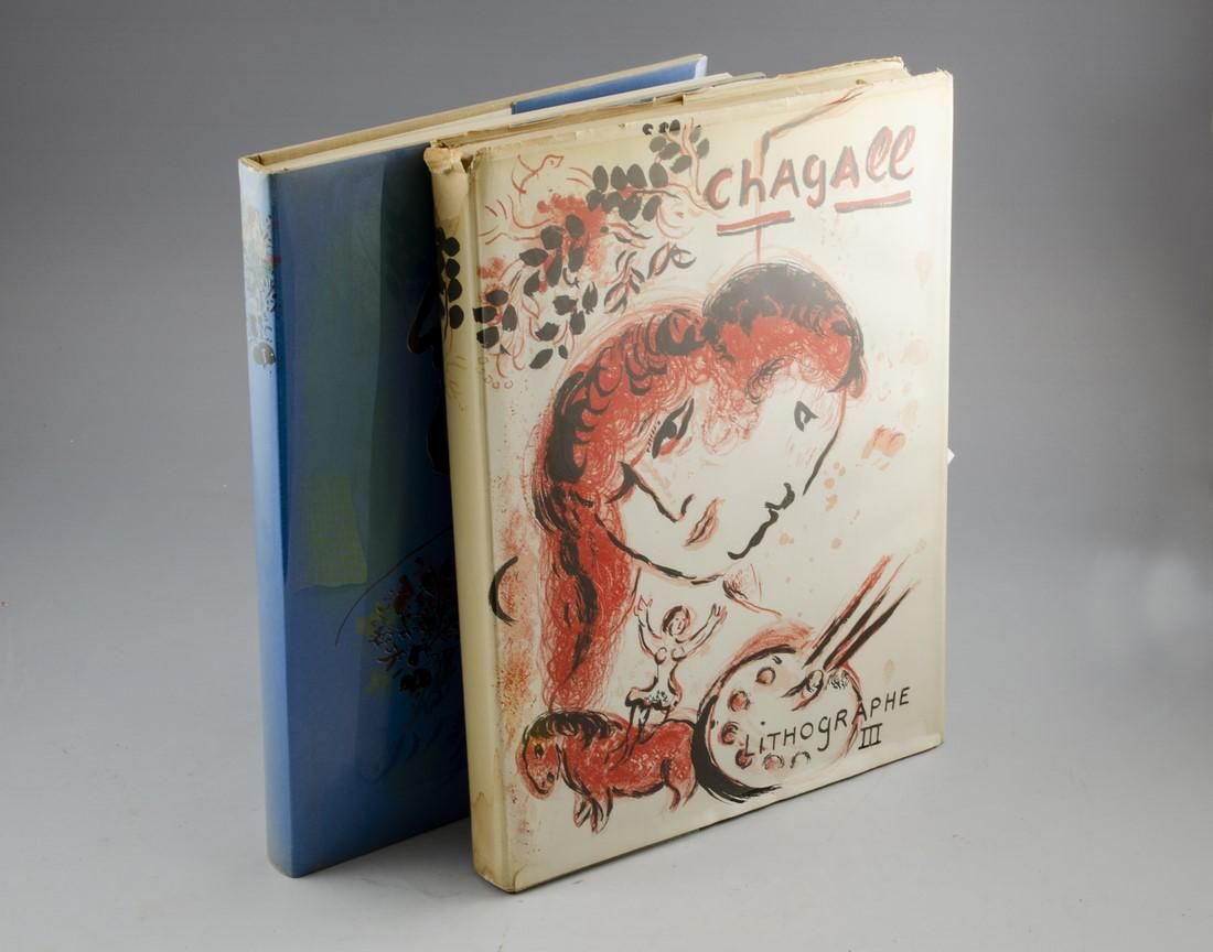 Marc Chagall, Lithographs, Vol. lll & Vl