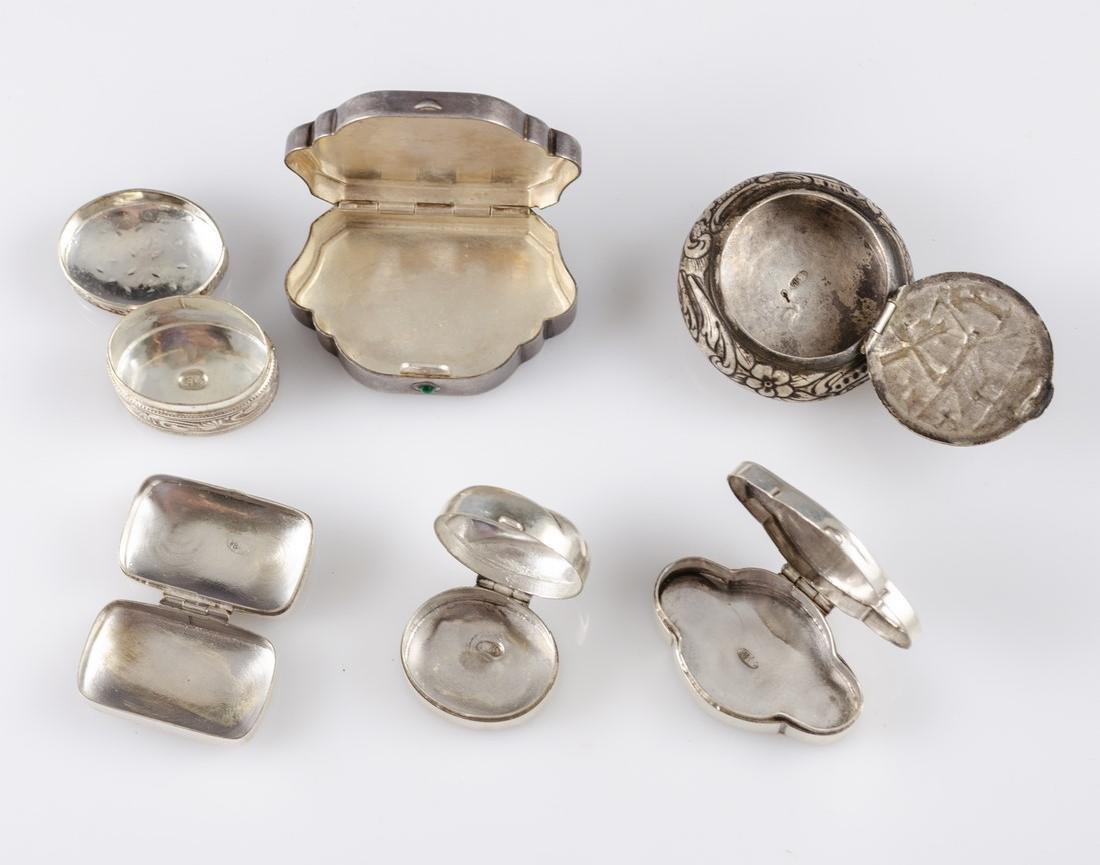 Miniature Silver Boxes - 2