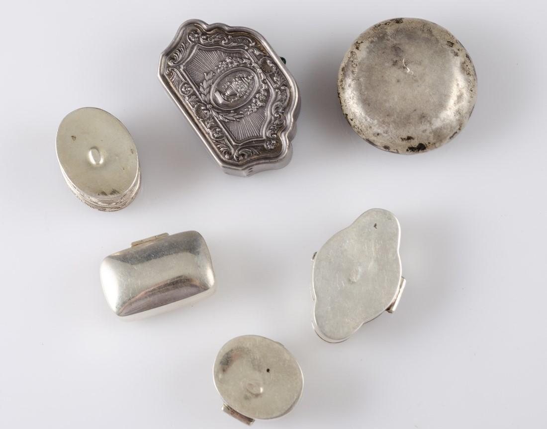 Miniature Silver Boxes - 3