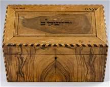 Jerusalem Olive wood Writing Slope