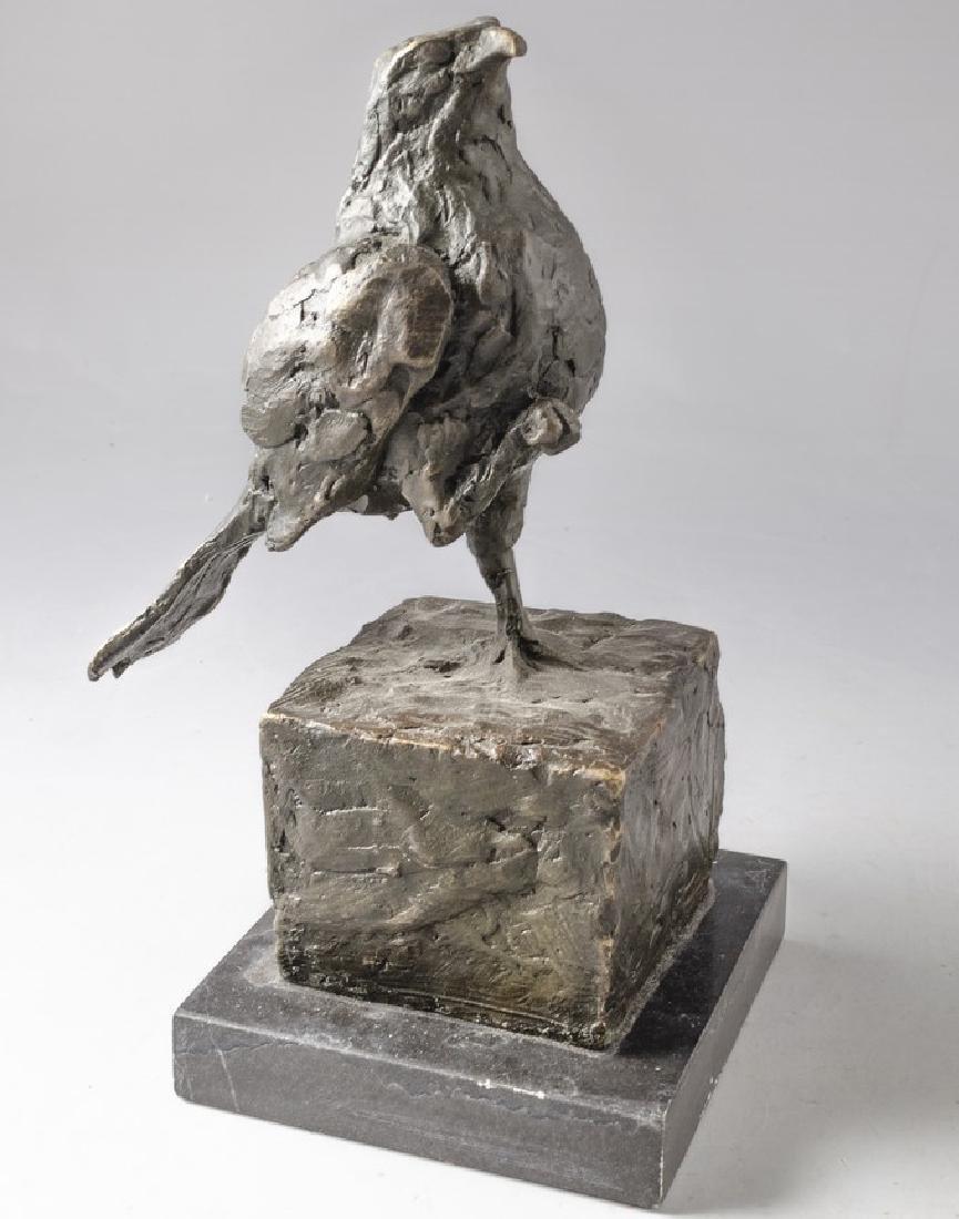 Bronze Bird Sculpture