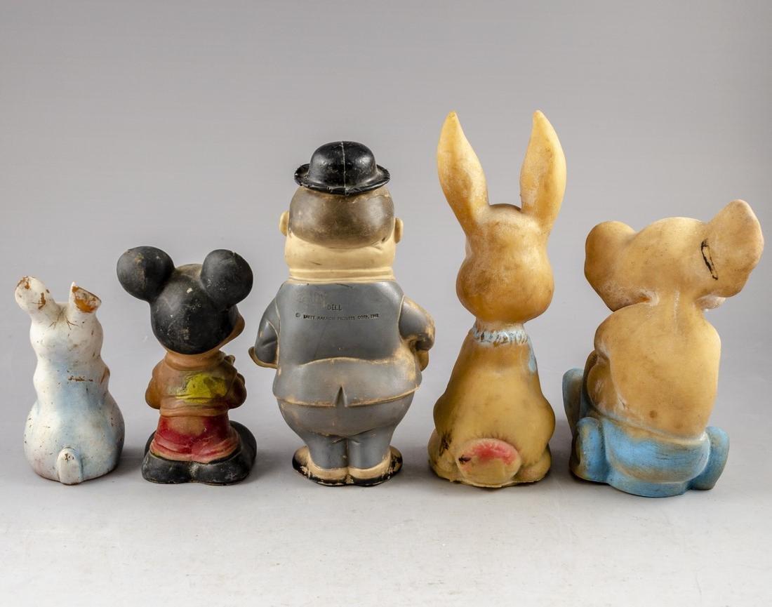Vintage Rubber Dolls - 2