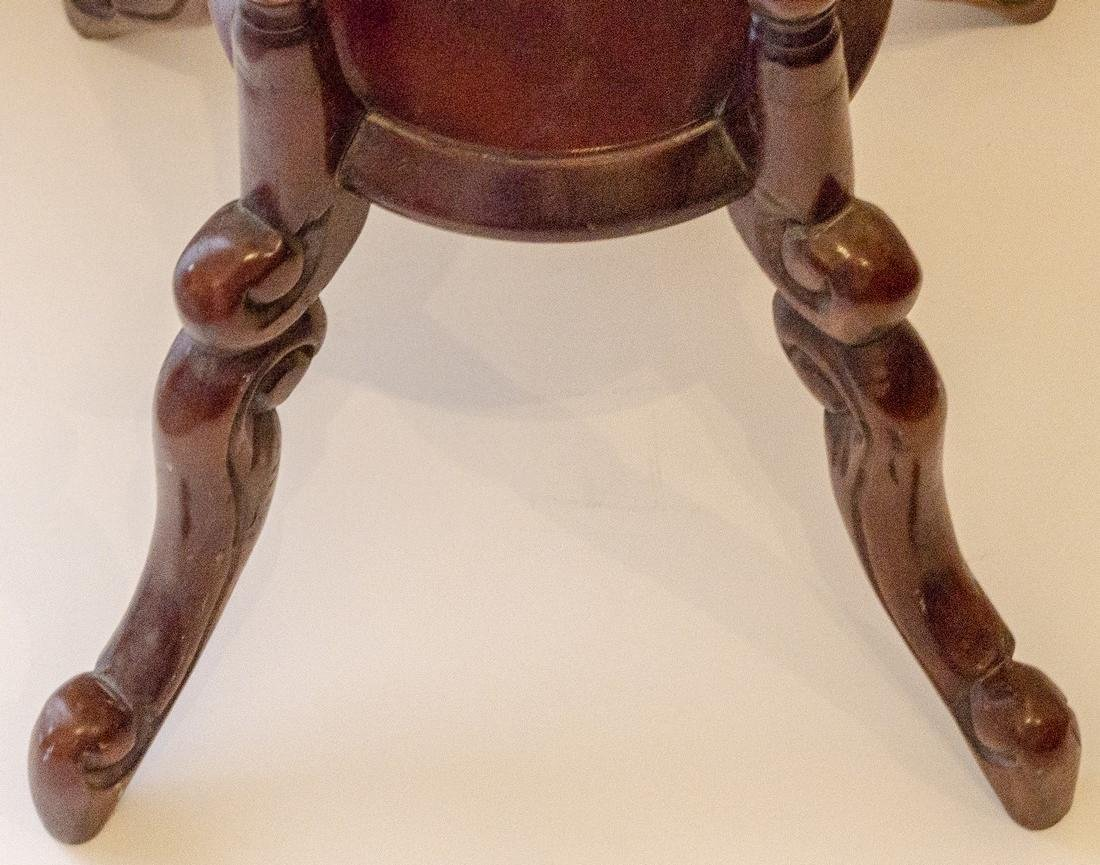 Wooden Sculpture/Plant Stand - 4