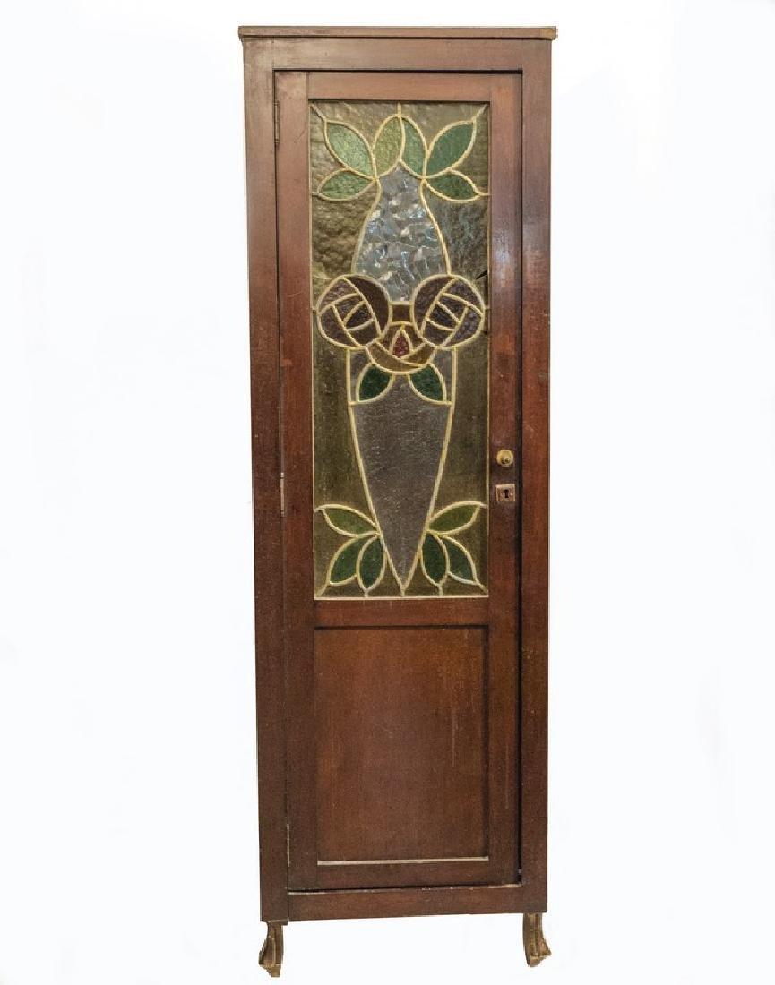 Art Nouveau Vitrine Closet