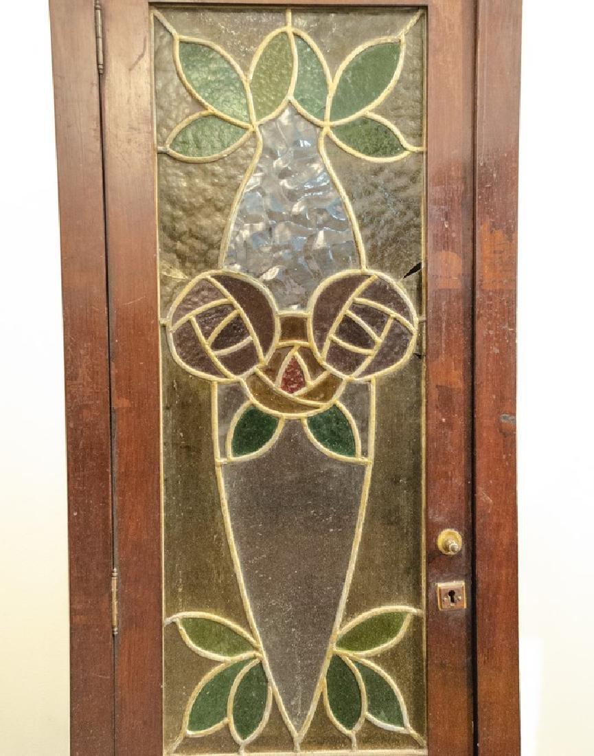 Art Nouveau Vitrine Closet - 2