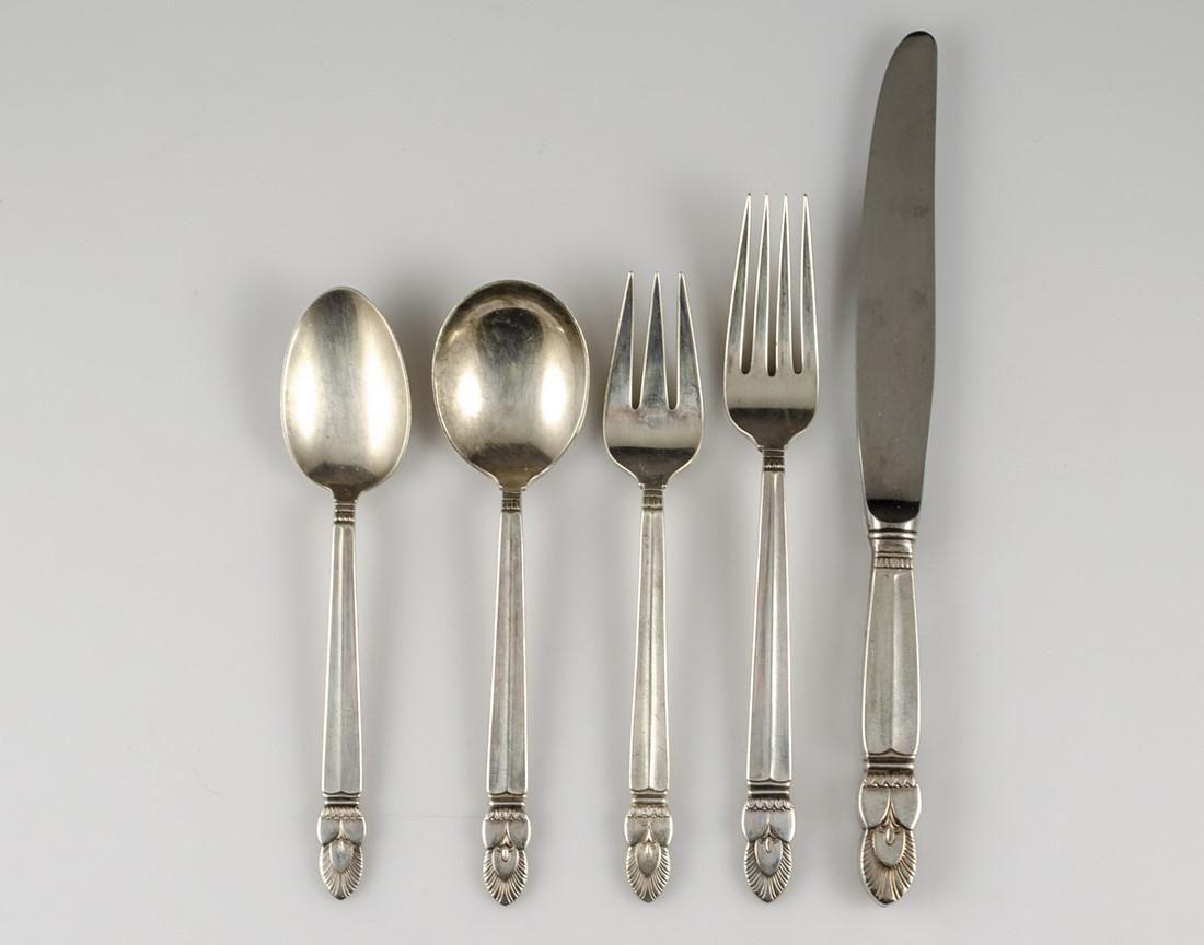 American Silver Cutlery Set