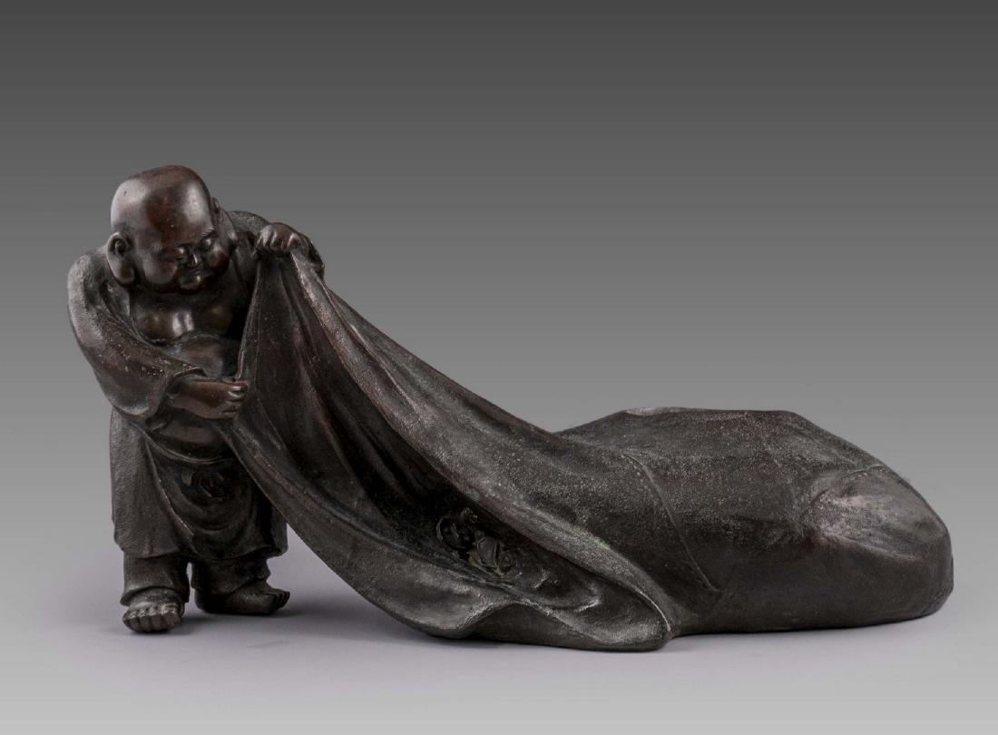Antique Chinese Bronze Sculpture