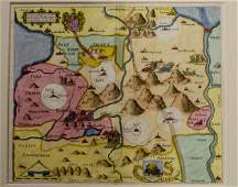 Two Antique Maps of the Holy Land