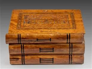 Jerusalem Olivewood Jewelry Box