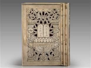 Silver Bible Cover Shuki Freiman