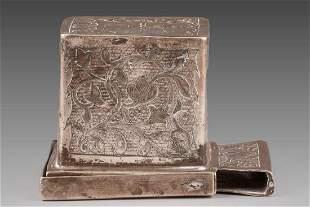 Silver Headtefillin Box