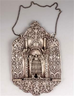 Polish Silver Torah Shield
