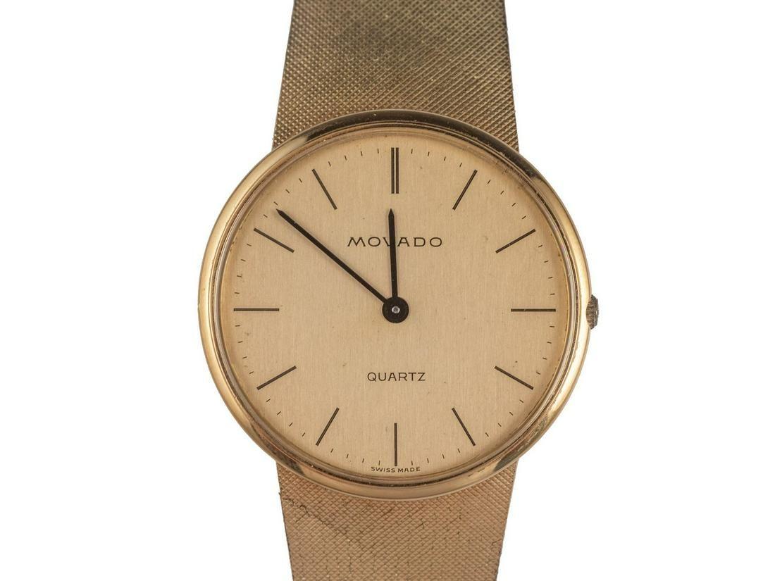 Movado Gold Wristwatch