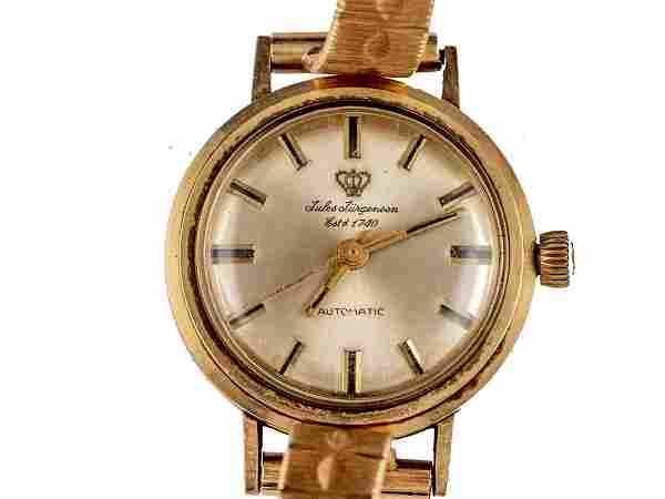Jules Jurgensen Gold Wristwatch