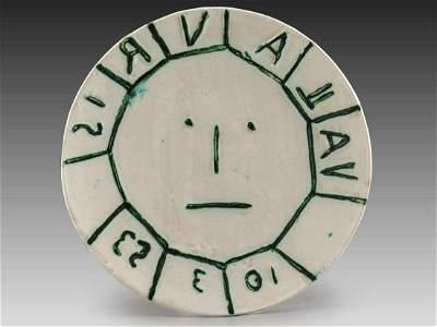 Pablo Picasso (1881-1973), Earthenware Plate