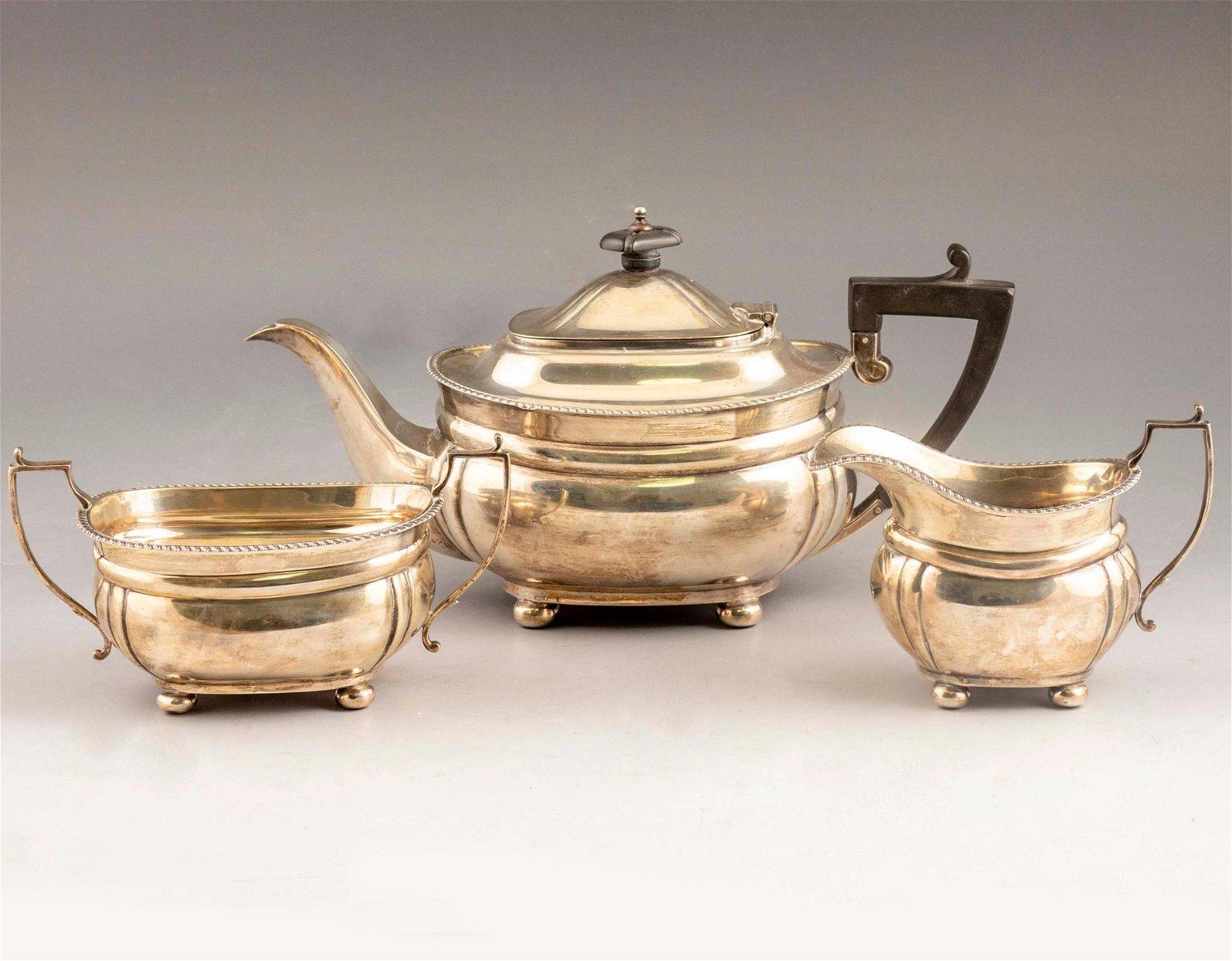 British Silver Coffee/ Tea Set