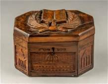 Jerusalem Olivewood Etrog Box