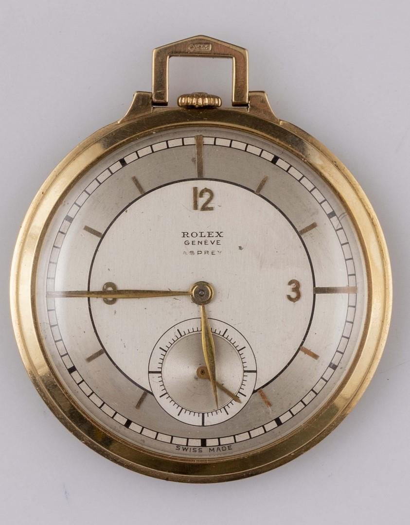 Gold Rolex Pocket Watch