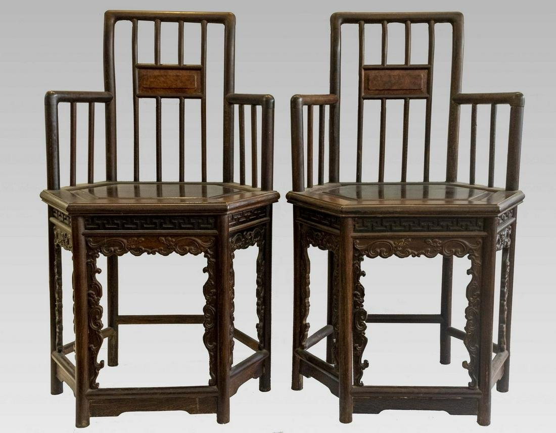 Chinese Wooden Chairs