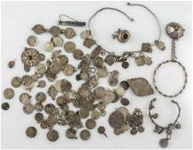 Ethnic Silver Jewelry Lot