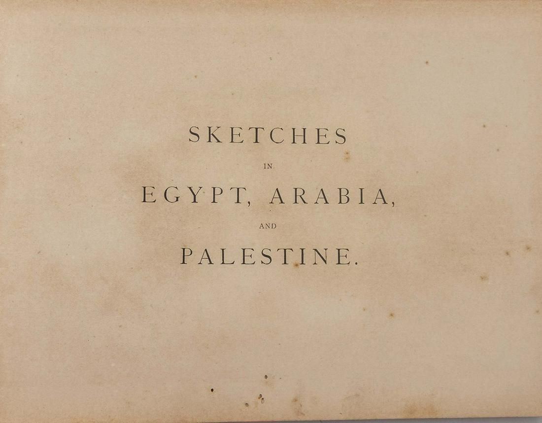 Sketches in Egypt, Arabia, and Palestine, 1873