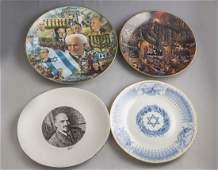 Jewish Porcelain Plate Lot