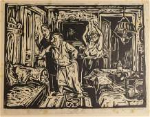 Hans Fronius (1903-1988), Prints Illustrating Kafka's