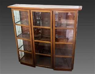 Skovy Mobelfabrik Wooden Display Cabinet