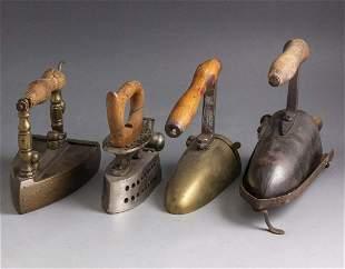 Antique Coal Irons