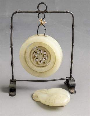 Chinese White Jade Carvings