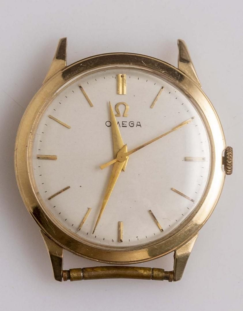 Gold Wristwatch, Omega