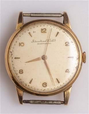 Gold Wristwatch, IWC Schaffhausen