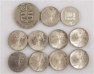 Israeli Silver Coins and Medals