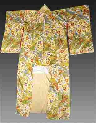 Japanese Kimonos and Fabrics