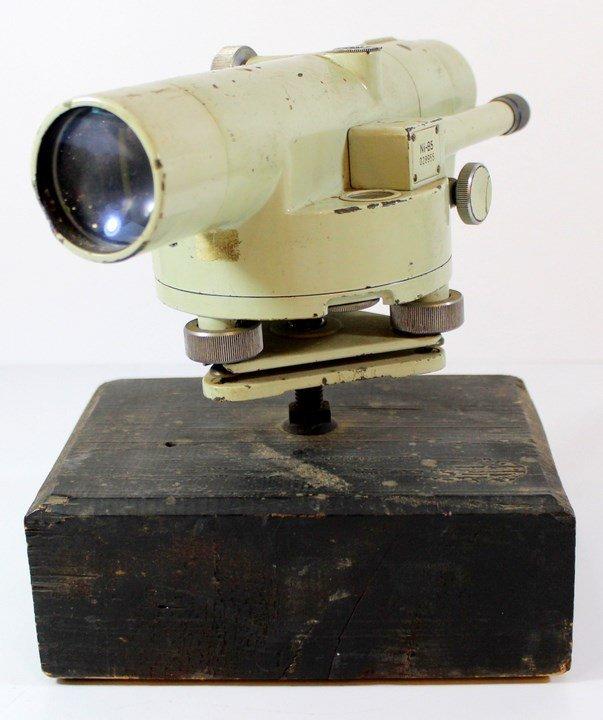 Vintage theodolite