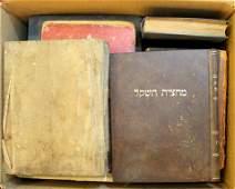 Lot of Jewish religious (Kodesh) books