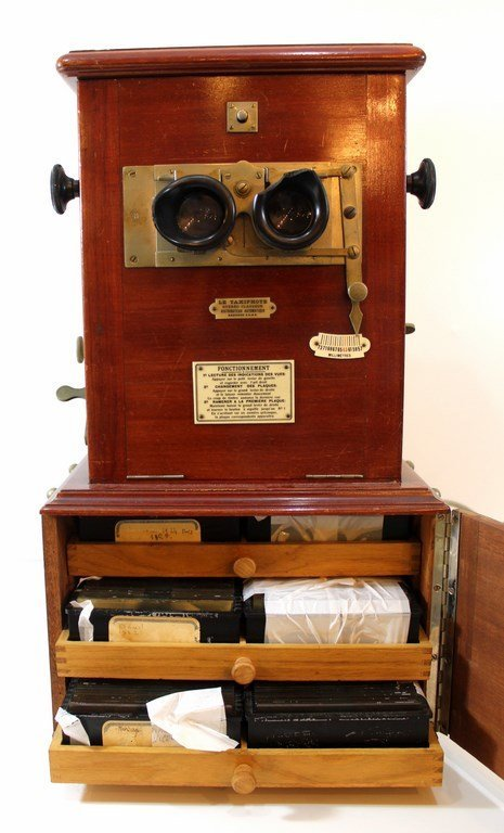 "Vintage stereoscope viewer - ""Le Taxiphote"" by Jules - 3"